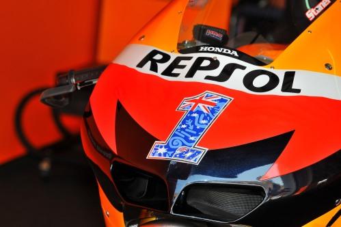 Casey Stoner Repsol Honda MotoGP Sepang