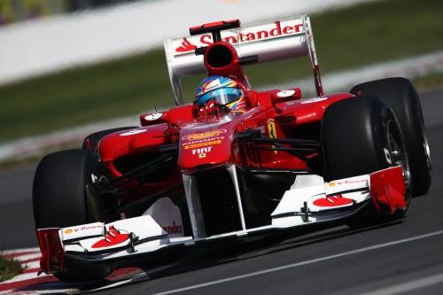Fernando Alonso Ferrari Canadá