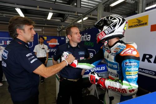 Maverick Viñales deja su equipo en Moto3 Avintia Blusens Ricard Jové