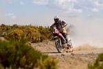 Gerard Farrés (Honda) sufrió problemas mecánicos en los primeros días del Dakar que le descartaron para el título