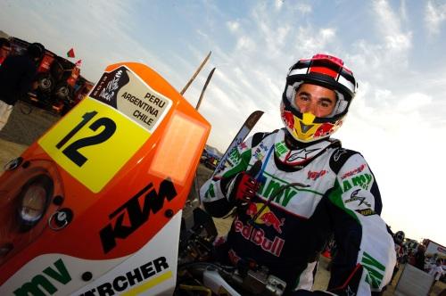 Joan Pedrero (KTM) ha sido el mejor español en la sexta etapa del Dakar entre Arica y Calama